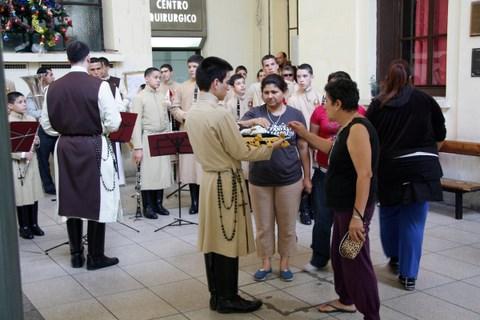 heraldos en argentina- hospital de niños