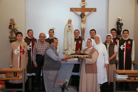 Heraldos - Visita al Centro de Rehabilitación San Juan de Dios