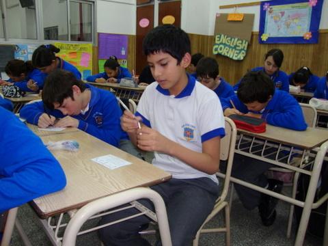 Heraldos en Argentina - Visita al Colegio San José Obrero