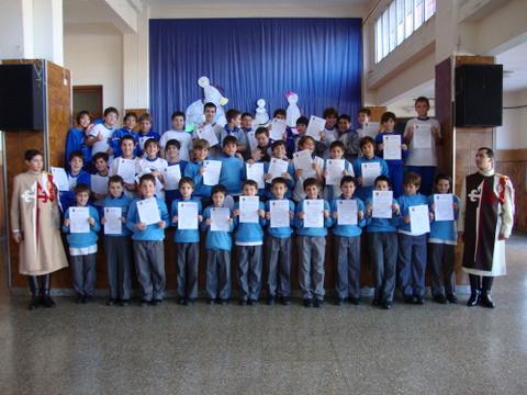 Heraldos en Argentina - Colegio San José, Obra Don Guanella