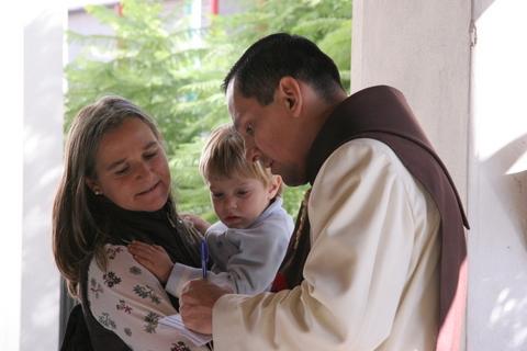 Heraldos en Argentina - P. Cristo Redentor
