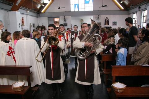 Heraldos en Argentina - Parroquia Natividad de la Santísima Virgen