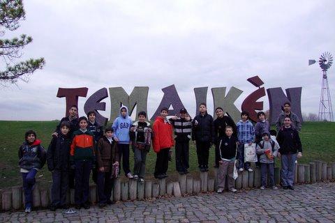 Heraldos en Argentina - Visita al Temaiken