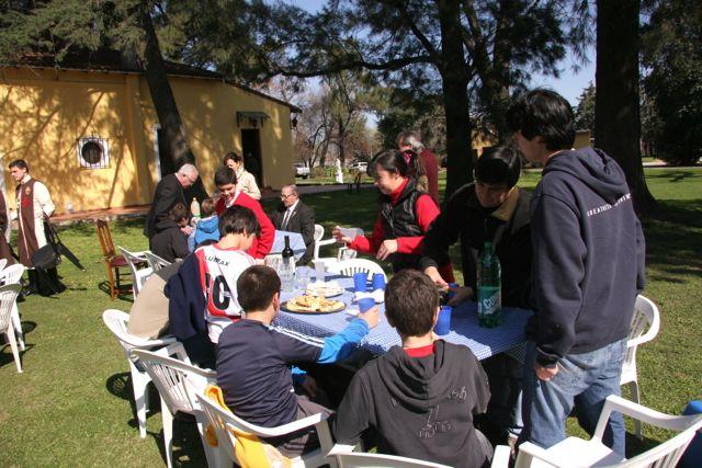 Actividad con familias