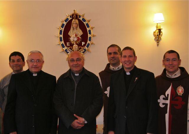 Visita de Mons. Sergio Alfredo Fenoy
