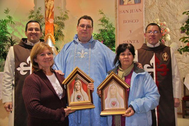 Un día con María en la Parroquia de San Juan Bosco y Santa Clara
