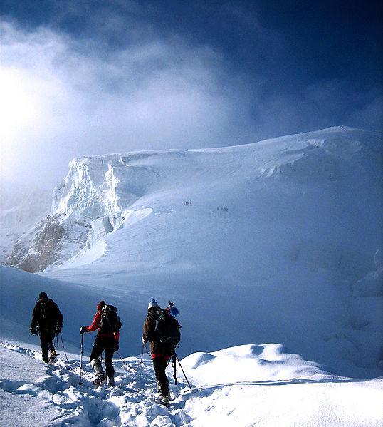 Heraldos en Argentina - Alpinismo