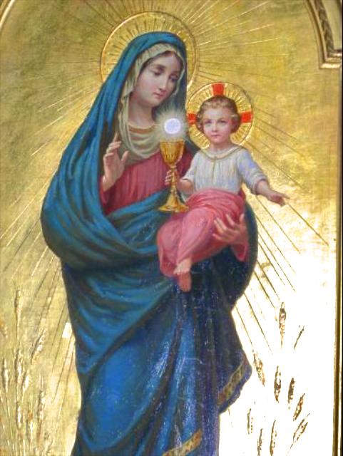 Heraldos en Argentina - N. Sra. del Santísimo Sacramento