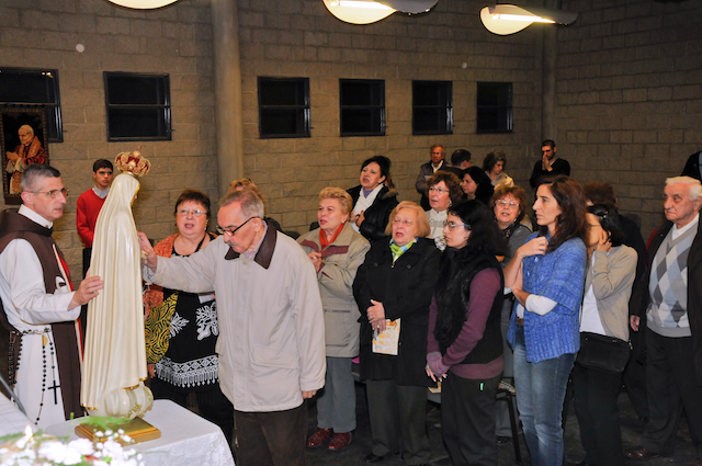 Heraldos en Argentina - Visita al Centro Misionero Luján