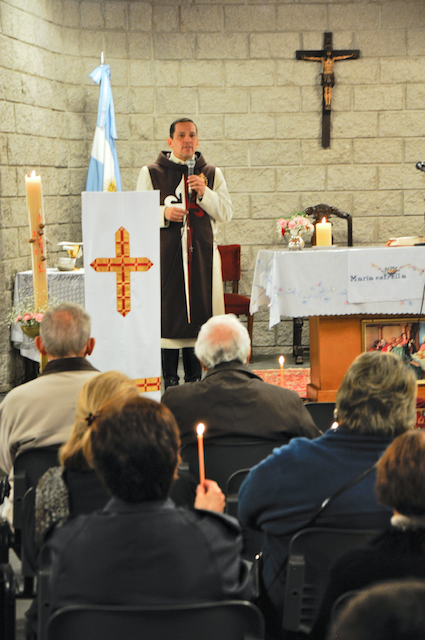 Heraldos en Argentina- Visita al Centro Misionero Luján
