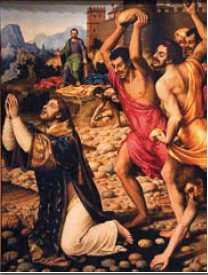 martírio Santo Estevão