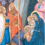 Os Reis Magos ofereceram ouro, incenso e mirra ao Menino Jesus
