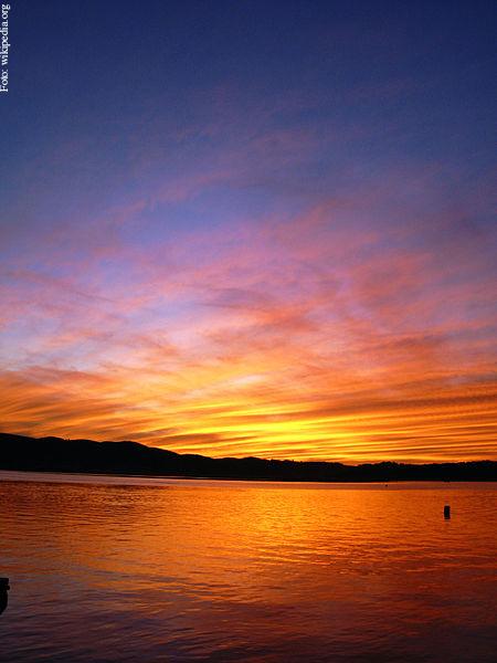post sunset hoje