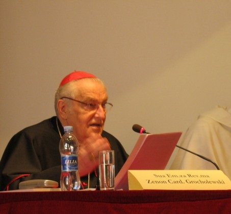 Cardeal Zenon Grocholewski