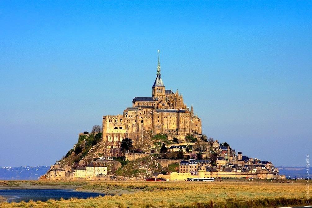 Monte Saint Michel,França