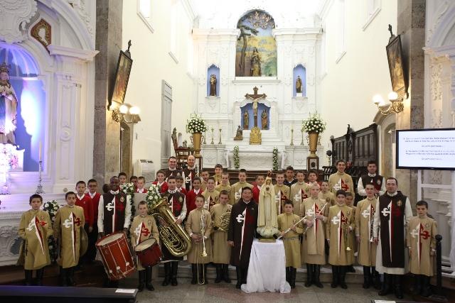 Apresentação na Catedral de Florianópolis - nov