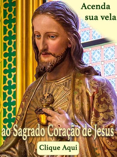 Vela Sagrado Coração de Jesus