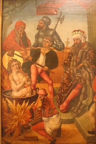 Martírio de São João Evangelista, Alsacia