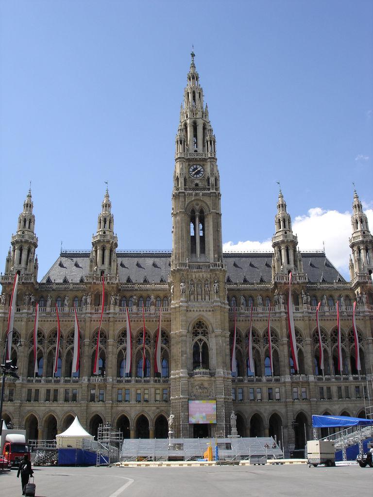 Prefeitura de Viena, cidade na qual viveu diversos músicos de fama