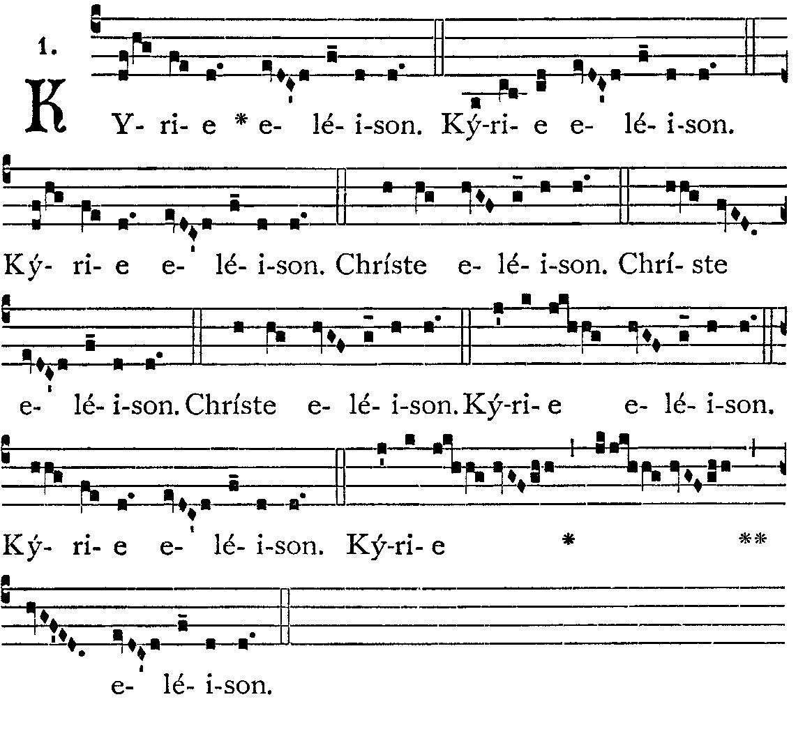 Missa em latim_partitura_Kyrie_Eleison_alme_Pater
