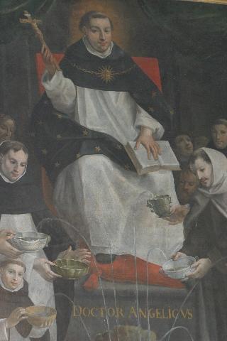 São Tomás de Aquino, Catedral de Notre Dame de Paris, França