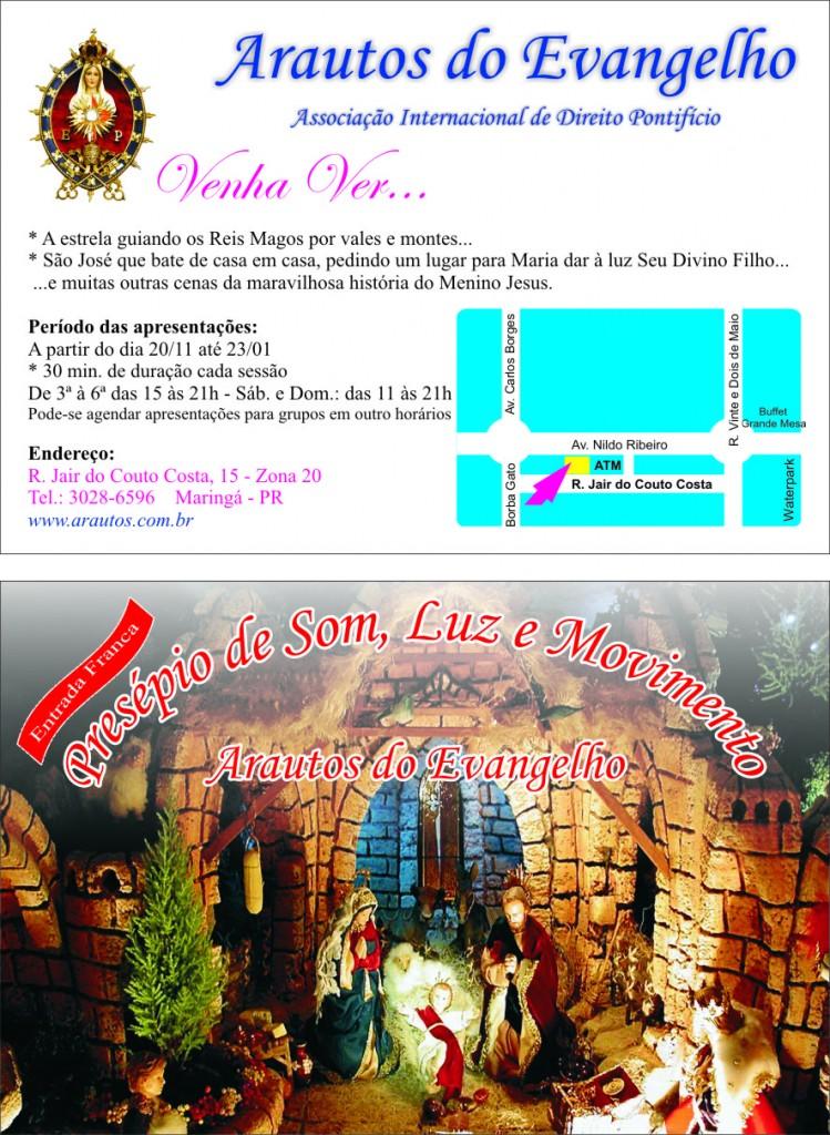Convite Presépio