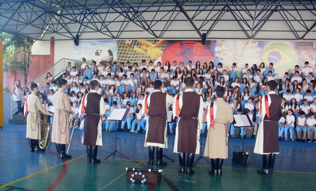 Concerto para alunos do Colégio Notre Dame