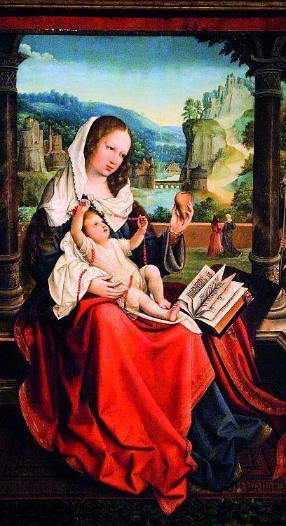 Virgen de la pera - Museu do Prado, Madri