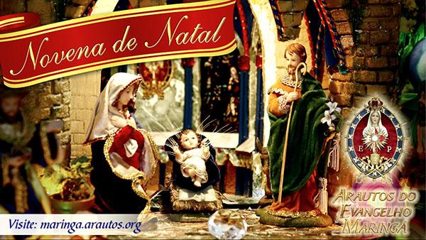 8º dia da Novena de Natal com os Arautos do Evangelho de Maringá (Vídeo)