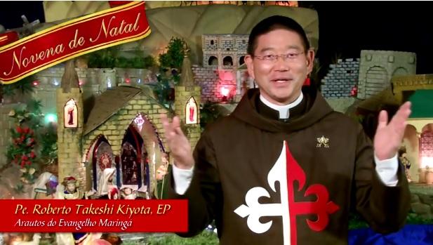 6º dia da Novena de Natal com os Arautos do Evangelho de Maringá (Vídeo)