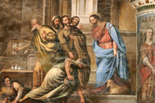 Por que Jesus expulsou os vendilhões do Templo?
