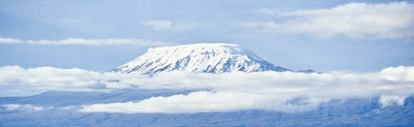 Neves eternas do Kilimanjaro