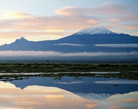 Kilimanjaro visto do Quênia