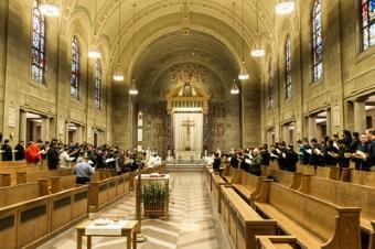 Capela do Seminario Santa Maria - Baltimore - EUA
