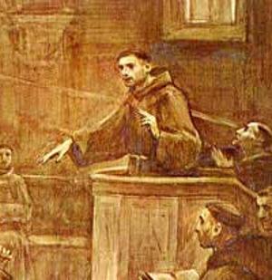 Santo Antônio pregando
