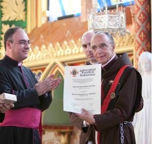 Mons. João Clá recebe o título de Doutor em Teologia