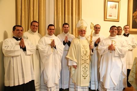 Três novos sacerdotes na Diocese de Nova Friburgo