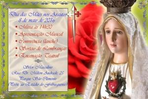 Convite para o Dia das Mães