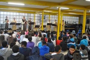 Projeto Futuro nas Escolas Municipais Décio Monteiro Soares e Rui Barbosa