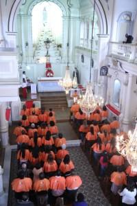 Consagração a Nossa Senhora em Duas Barras (2)