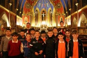Visita a duas basílicas em um mesmo dia