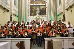 Arautos do Evangelho e Apostolado do Oratório peregrinam ao Santuário do Santíssimo Sacramento