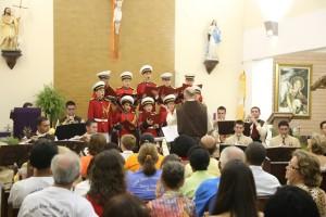 Cantata natalina em Macuco/RJ