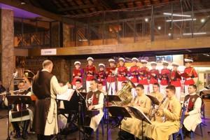 Cantata natalina na Estação Livre em Nova Friburgo
