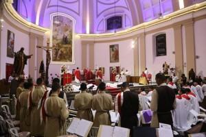 Os Arautos participam da ordenação de seis novos Diáconos no Rio de Janeiro