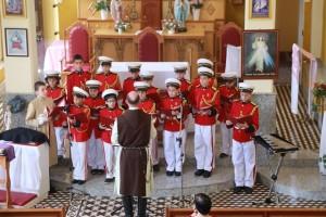 Cantatas natalinas em Riograndina e Portela no Domingo da Alegria