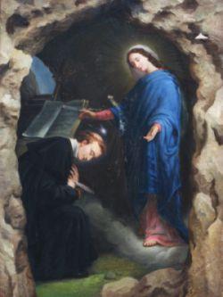 Aparicao de Nossa Senhora a Santo Afonso