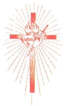 cruz com os corações