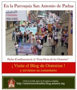 Blog do Apostolado do Oratório em Colômbia