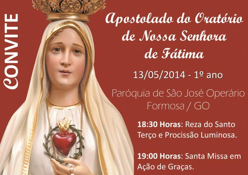 Em Goiás Missa Em Comemoração Aos 97 Anos Da Aparição De Nossa